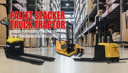 Xe nâng tay điện (stacker)
