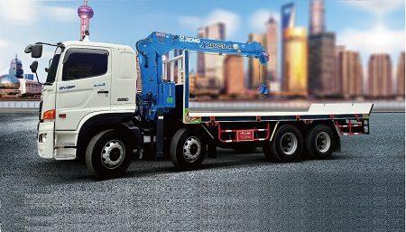Xe cẩu 5 tấn XCMG – Top 1 Trung Quốc – Top 6 toàn cầu.