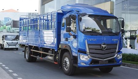 Xe tải AUMAN C160 (Euro 4) – 9.1 tấn thùng dài 7m4