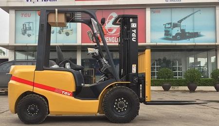 Xe nâng 2.5 tấn TEU Trung Quốc giá rẻ nhất Hà Nội